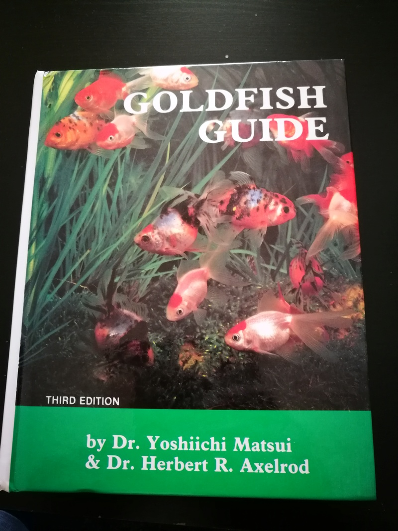 Goldfish Guide by Dr. Yoshiichi Mastsui & Dr. Herbert R. Axelrod Img_2047