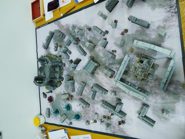 Frostgrave aux Arpenteurs de Rêves et à La Forge Ludique P1010336