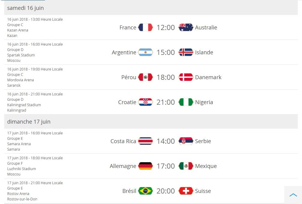 Coupe du monde: présentation Cal211
