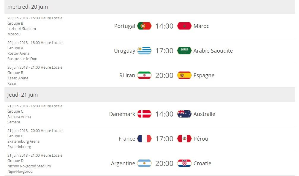 Coupe du monde: présentation Cal411