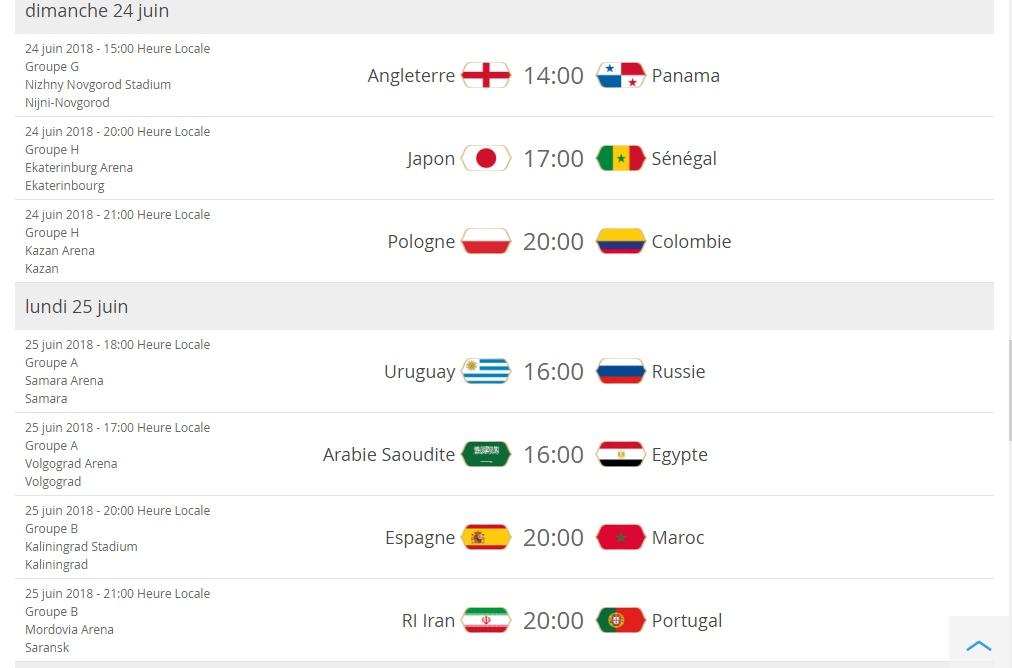 Coupe du monde: présentation Cal611