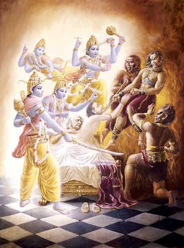 Il Dio Indiano Krishna era anche Re di Gerusalemme ?! Vishnu10
