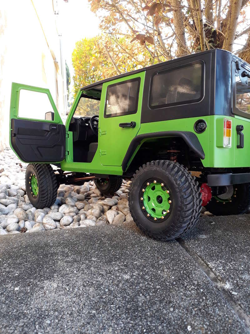 Jeep Wrangler sur chassie EX REAL 20180423