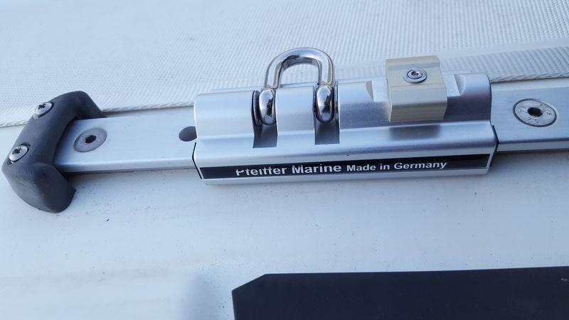 [TECHNIQUE] Installation chariot de Genois réglable ( easy sail ) // Barre d'écoute GSE réglable Chario10