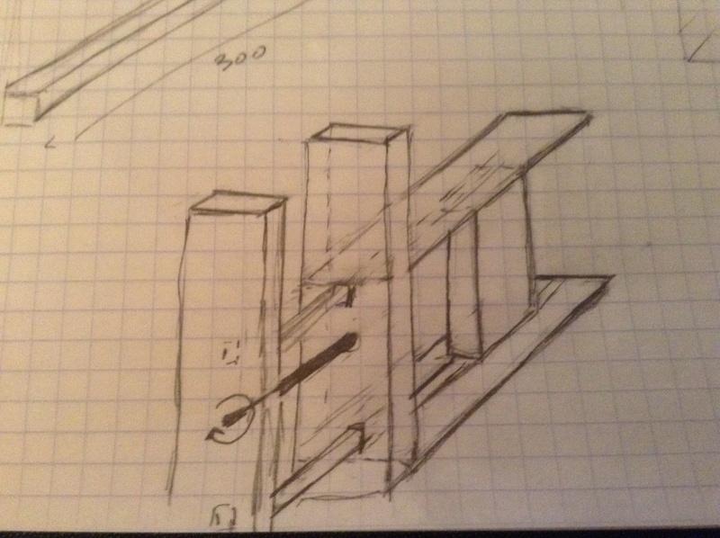 Construction d'une presse verticale demande de conseils Image11