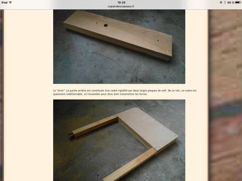 Construction d'une presse verticale demande de conseils Image13