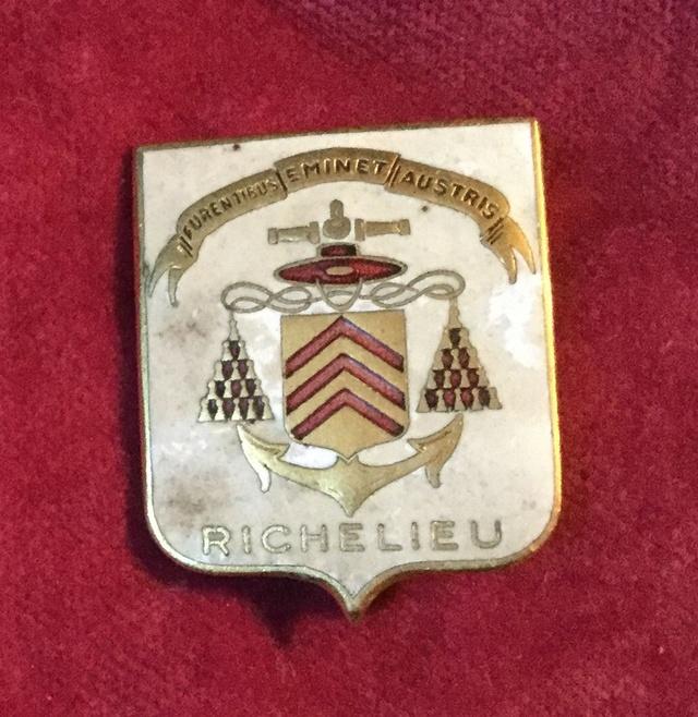 Badge Richelieu  Dfab8f10