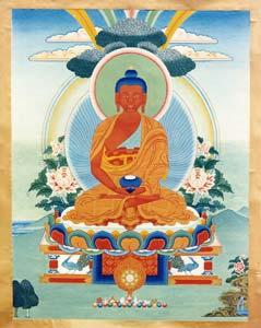 I due Buddha della Ruota del Karma: Amithaba e Gautama Buddha10