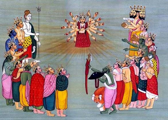 Se te sei un Jivanmukta te non sei più alla frutta. Hindu_10