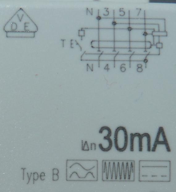 Conversion de ma borne de monophasé 7 kW en triphasé 22 kW P1040316