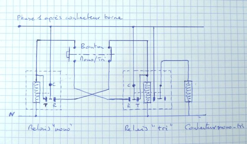 Conversion de ma borne de monophasé 7 kW en triphasé 22 kW - Page 6 P1040524