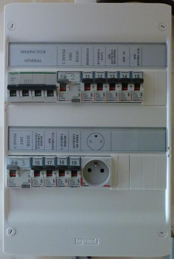 Conversion de ma borne de monophasé 7 kW en triphasé 22 kW - Page 6 P1040528