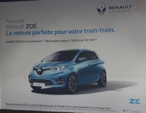La Zoé ZE50 sur les murs Resize10