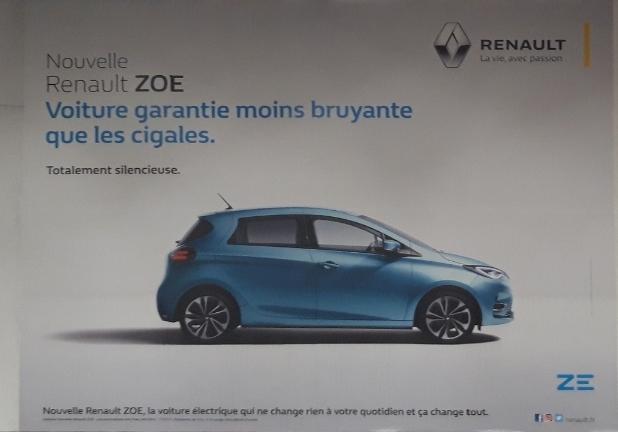 La Zoé ZE50 sur les murs Resize12
