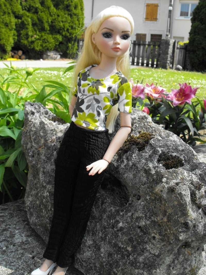 Mes Ellowyne, c'est le printemps, pantalon et 3 petits tee-shirts ! page 9 - Page 9 84573b10