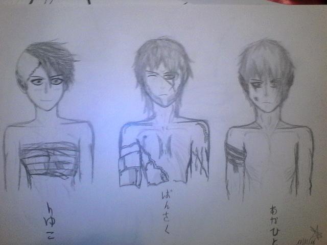 Mes tous premiers dessins :3 17_12_10