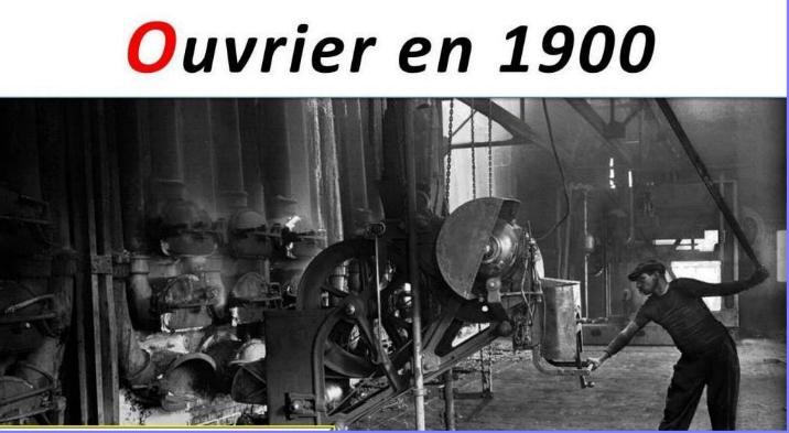Ouvriers en 1900 - Magnifiques archives * X_0133