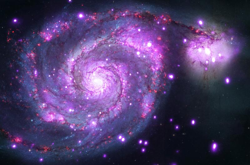 Tout l'univers connu en une seule image – Une impressionnante carte logarithmique M51_lg10