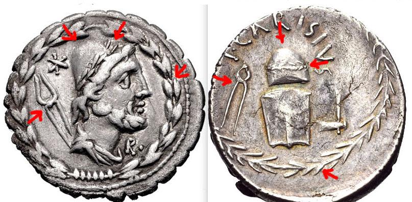 De Juno Moneta à Sacra Moneta, la Monnaie sur la monnaie Carisi10