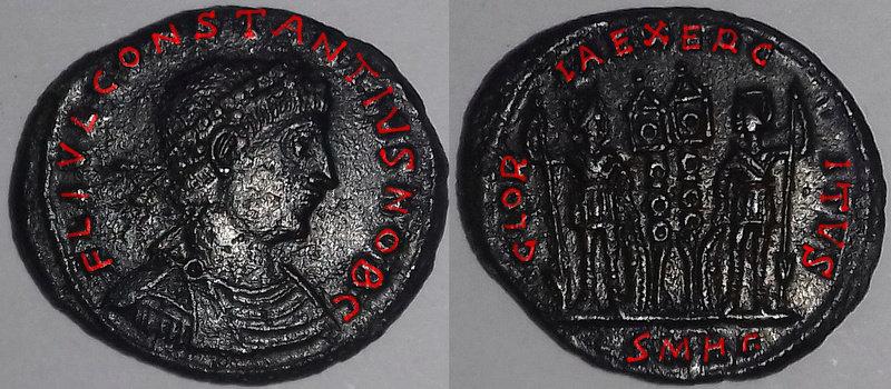 Constance II date 330-333 Consta10