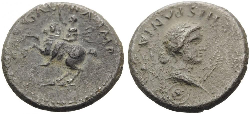 Denier de Galba frappé en Hispania - en apparence inédit.  - Page 3 Monnai13