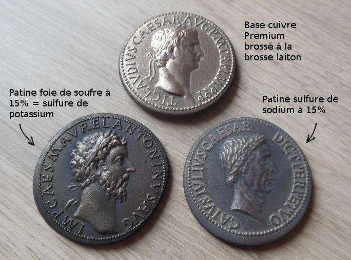 Padouans acier cuivreux Patine10