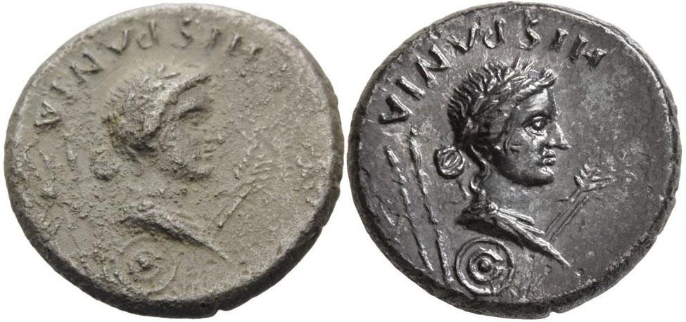 Denier de Galba frappé en Hispania - en apparence inédit.  - Page 3 Restau10