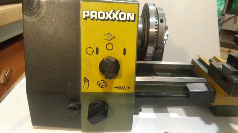 Tokarski proxxon PD230 Imag5213