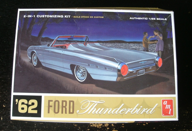 1962 Ford Thunderbird. 00112