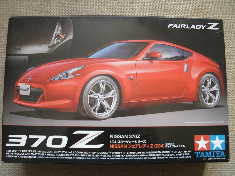 Nissan 370Z (Tamiya) 00116