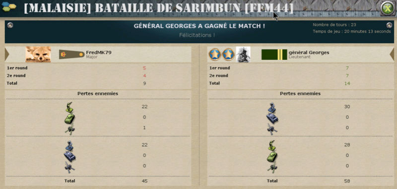 J4 - général Georges - FredMK79 : 4-0 (14-9) Batail11