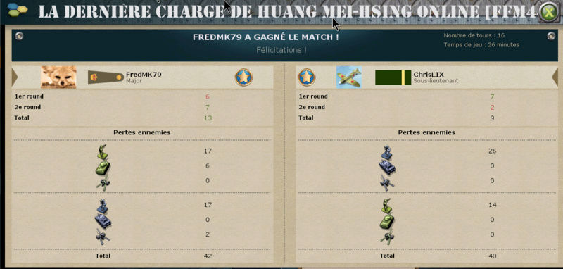 J9 – FredMK79 vs ChrisLIX : 3-1 (13-9) Match_15