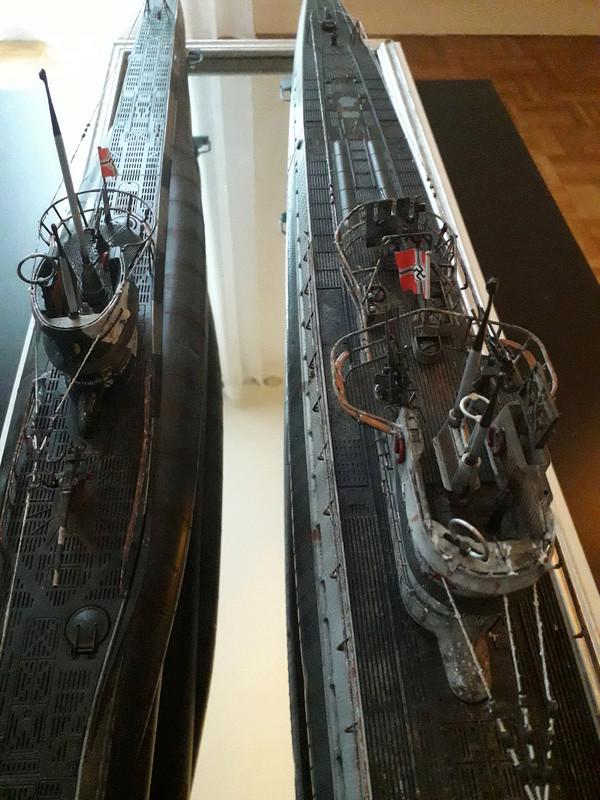 2 u-boots pour le bord de mer. 210