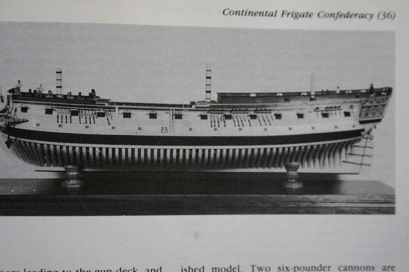 La Confederacy de 1772 au 1/64 par Model Shipways - Page 2 Michau10
