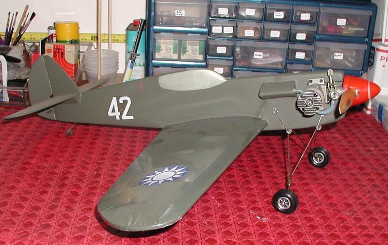 1960 Scientific P-40 Profile kit P-40_210