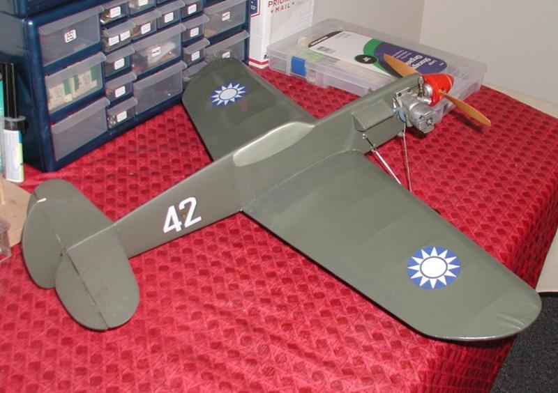 1960 Scientific P-40 Profile kit P-40_212