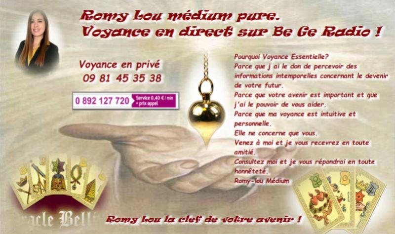 Romy lou cabinet de voyance P2018-12