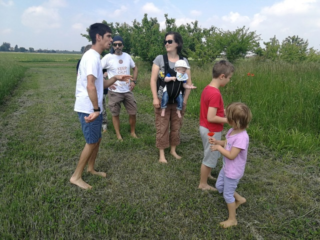 Celebrazione della Madre Terra nella fattoria di Damiano! Cammin10