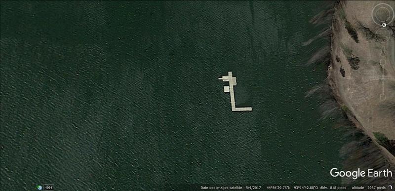 Le mystérieux avion au fond du Lac Harriet, Minnesota, USA 113