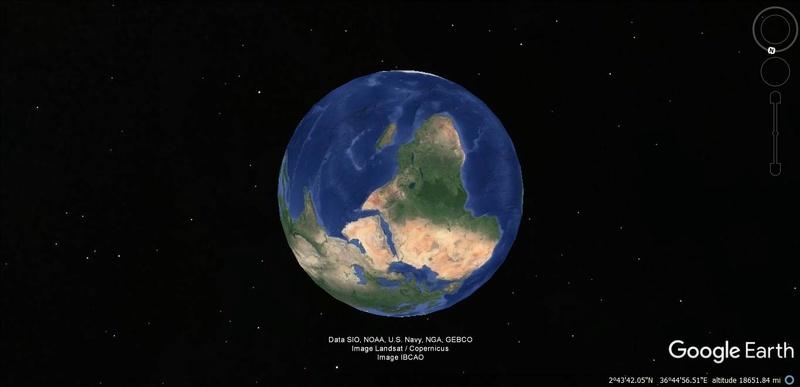 Activation des reliefs sur Google Earth 116