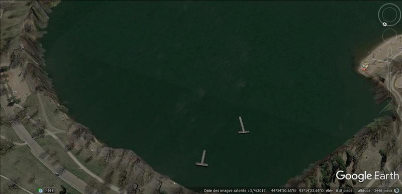 Le mystérieux avion au fond du Lac Harriet, Minnesota, USA 210