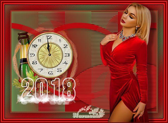"""N°1a """"Fiestas de fin de año"""" Meilleurs Voeux Tutaux19"""