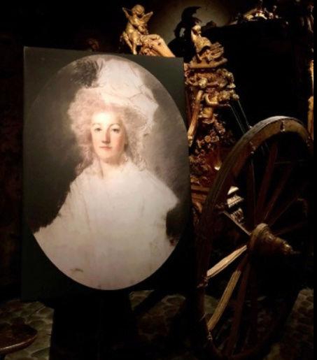 Expo sur Fersen et Marie-Antoinette - Palais royal Stockholm Captu130
