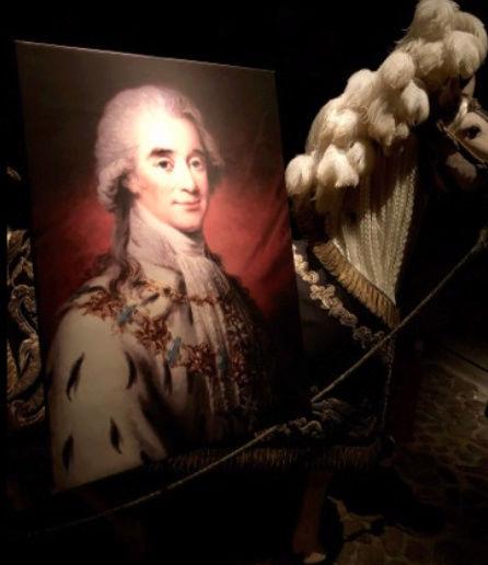 Expo sur Fersen et Marie-Antoinette - Palais royal Stockholm Captu131