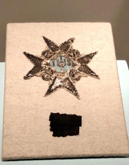 Expo sur Fersen et Marie-Antoinette - Palais royal Stockholm Captu141