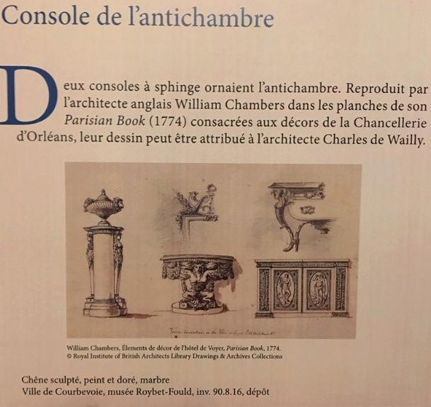 Expo. Archives nat. Les décors de la Chancellerie d'Orléans Captu181