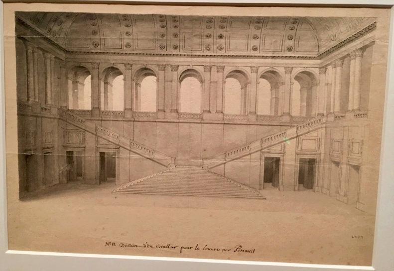Dessiner pour bâtir,  le métier d'architecte au XVIIe siècle Captu190