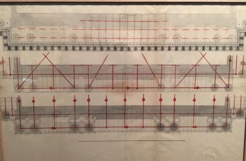 Dessiner pour bâtir,  le métier d'architecte au XVIIe siècle Captu191