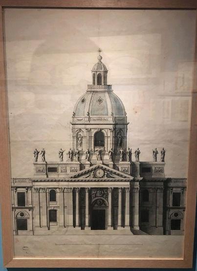 Dessiner pour bâtir,  le métier d'architecte au XVIIe siècle Captu195