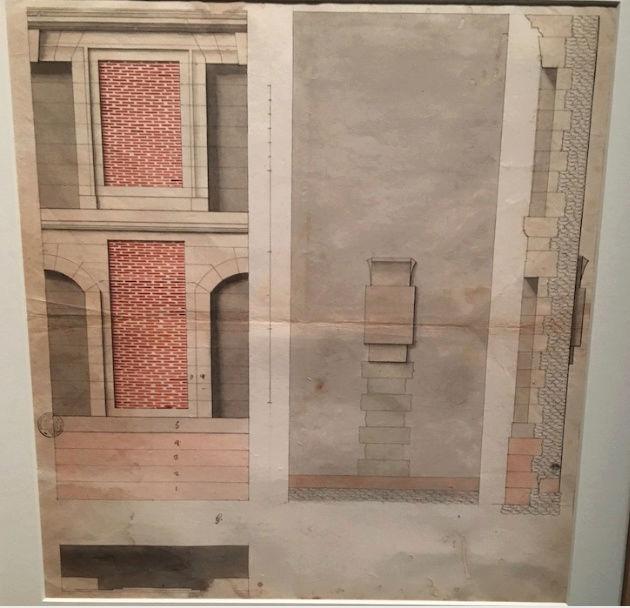 Dessiner pour bâtir,  le métier d'architecte au XVIIe siècle Captu198